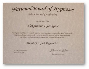 National Board of Hypnosis